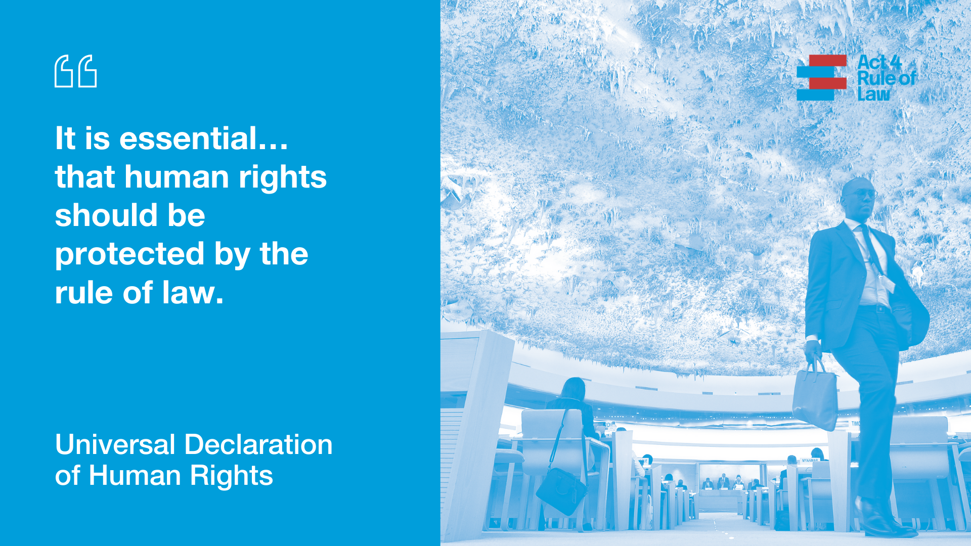 Human rights and the rule of law   UNODC